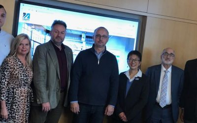 Developing a cooperation with UMass-Lowell in the USA