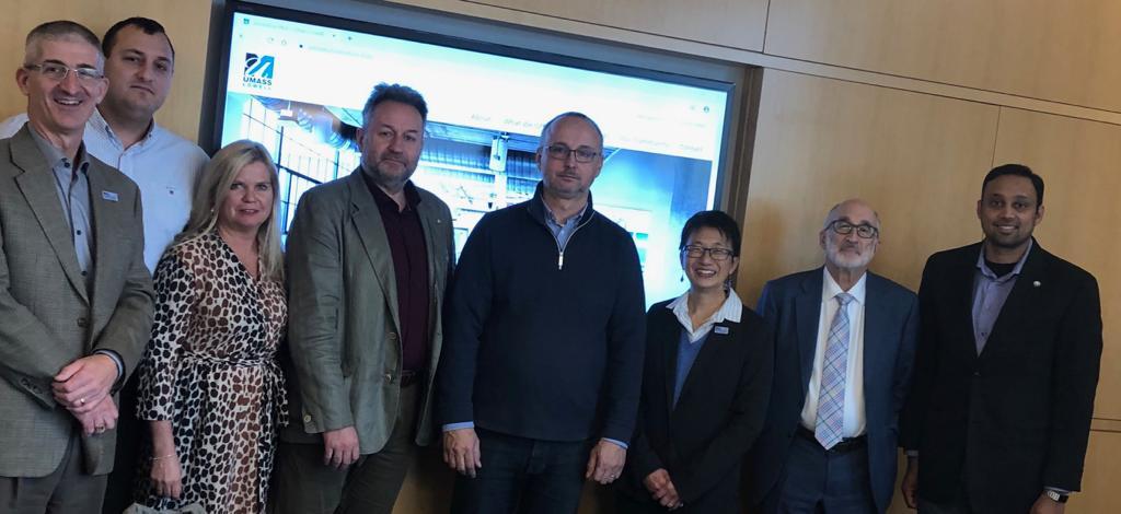 Rozvíjení možností spolupráce s UMass-Lowell v USA