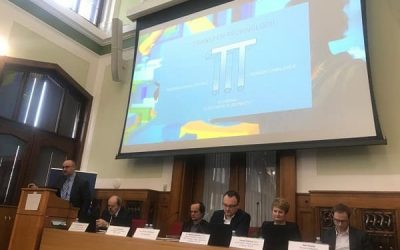 Representative of the Department Technology of Technology Transfer, CTU in Prague, spoke at the 1st Innovation Forum